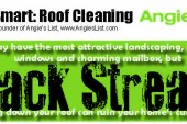 Angie's List Founder Writes about Need for Roof Cleaning