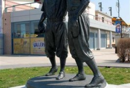 Jackie Robinson Statue Vandalized with Hate Graffiti