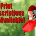 Important Notice about eClean Print Subscriptions