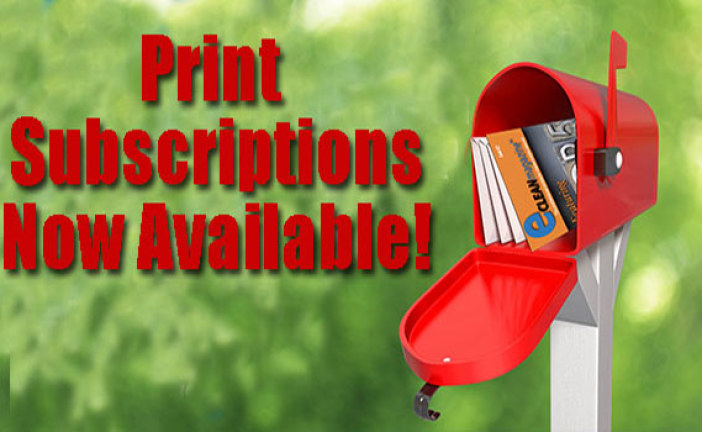 eClean Print Subscriptions — Just $5 per issue