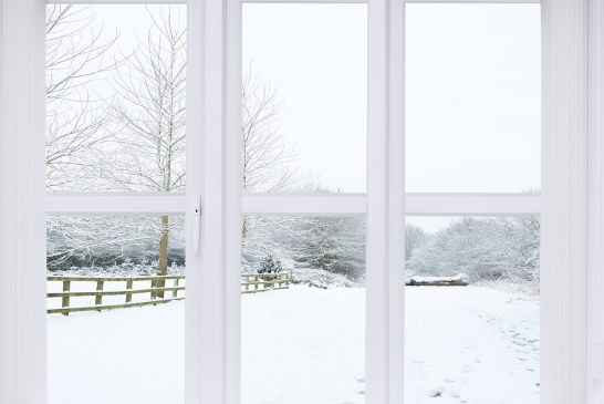Winter Window Cleaning