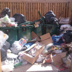How Communal Garbage Areas Can Come Up Trumps
